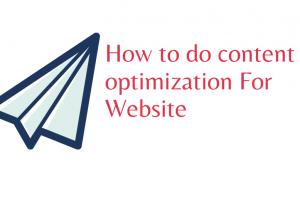 content optimization